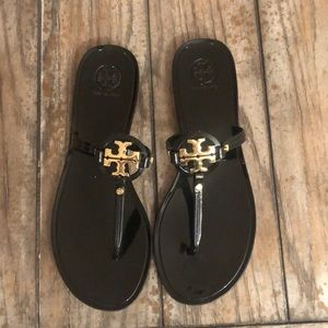 Tory Burch mini miller jellies